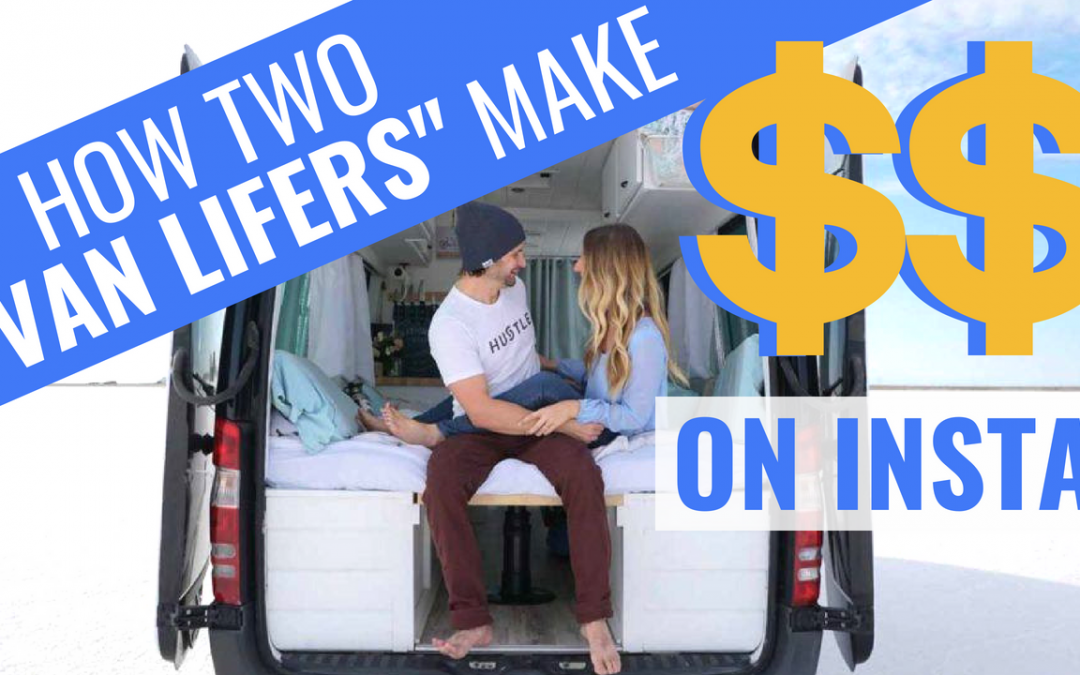 How Do VAN LIFE Influencers Make Money? | 40 Hours of Freedom