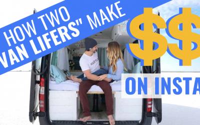 How Do VAN LIFE Influencers Make Money?   40 Hours of Freedom