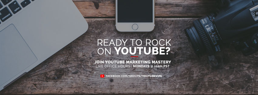 YouTube Marketing Mastery Facebook Group